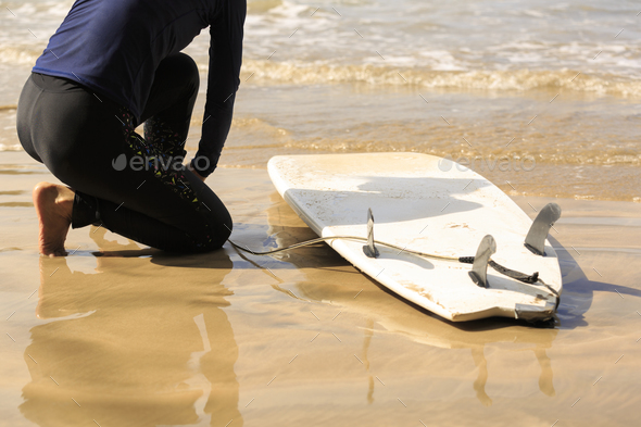 Ready to surf - Stock Photo - Images