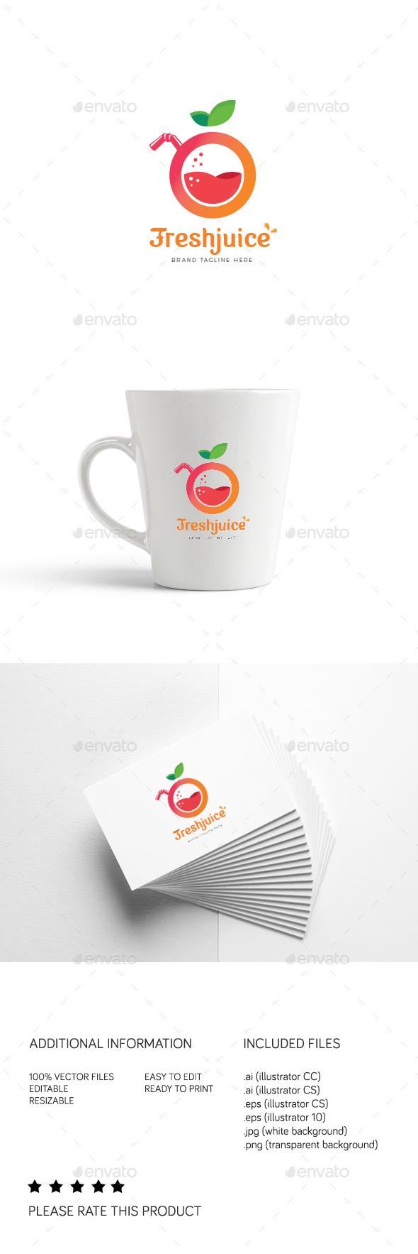 FreshJuice - Logo Templates
