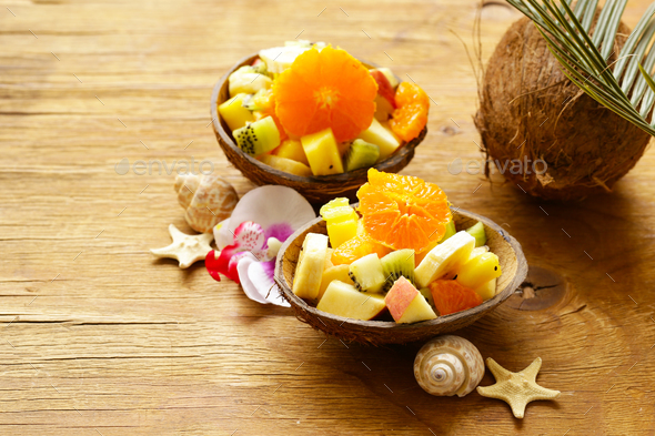 Fruit Salad - Stock Photo - Images