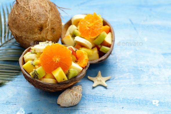 Fruit Salad - Stock Photo - Images