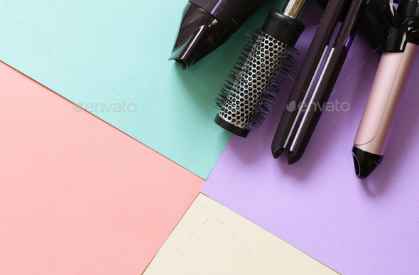 Hairdresser's Tools  - Stock Photo - Images
