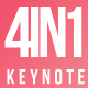 4 in 1 Bundle Keynote Template - GraphicRiver Item for Sale