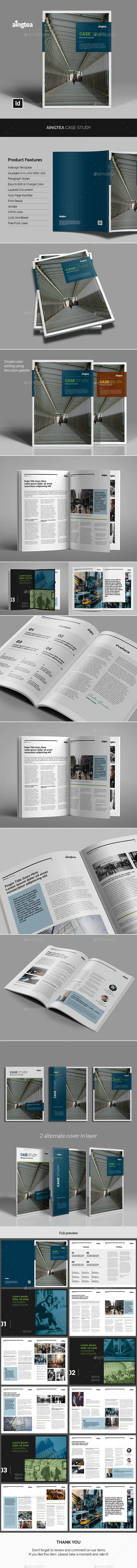 Aingtea Case Study - Informational Brochures