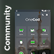 A community App UI set | One God - GraphicRiver Item for Sale