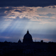 Saint Peter's basilica at dusk. Vatican city, Rome - PhotoDune Item for Sale