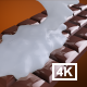 Chocolate Bar With Milk 4K - VideoHive Item for Sale