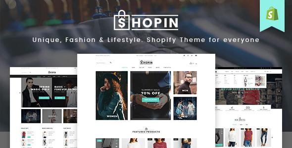 Shopin - Mutilpurpose eCommerce PSD Template - Retail PSD Templates