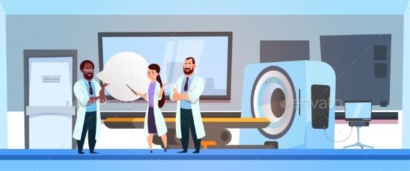 Team Of Doctors - Health/Medicine Conceptual