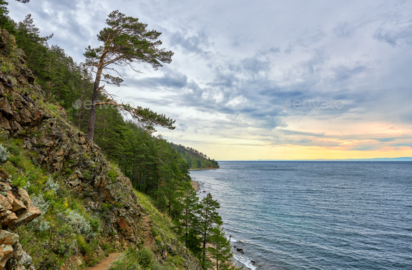 Baikal landscape  - Stock Photo - Images