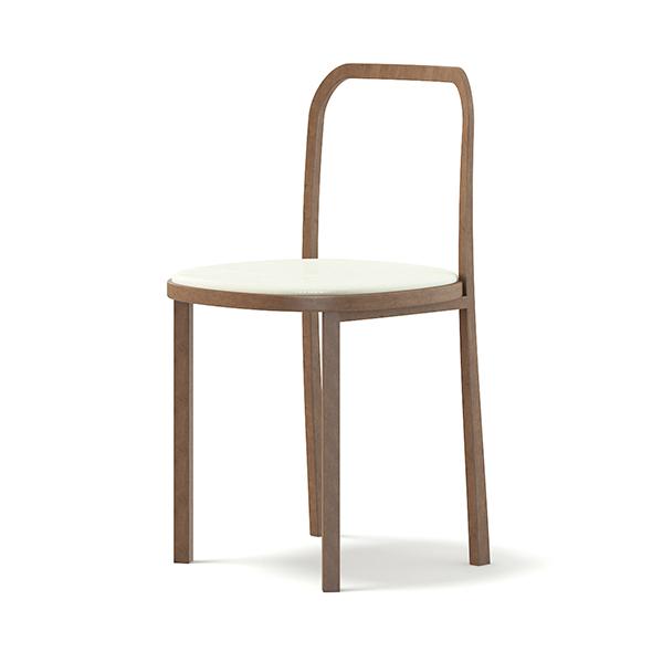 Wooden Chair 3D Model - 3DOcean Item for Sale