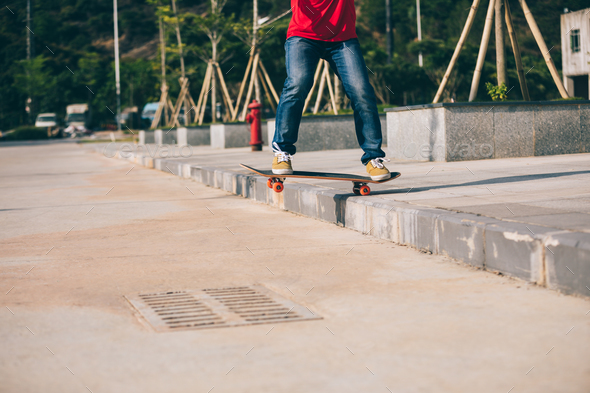 Skateboarding - Stock Photo - Images