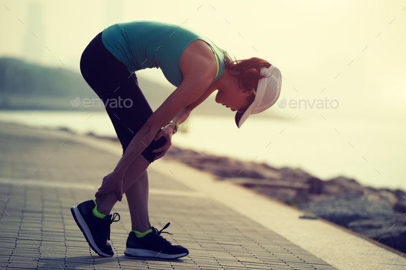 Sports injury - Stock Photo - Images
