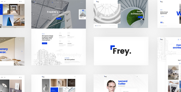 Frey – Contemporary Architecture & Portfolio WordPress Theme