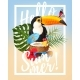 Vector Summer Party Card - GraphicRiver Item for Sale