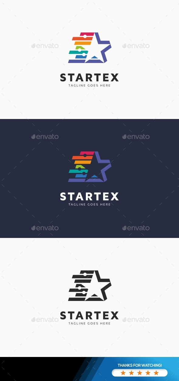 Star Technology Logo - Symbols Logo Templates