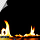 Realistic Fire Line in Super Slow Motion - Alpha Channel v.2 - VideoHive Item for Sale