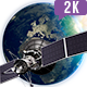 South America Earth Satellite - VideoHive Item for Sale