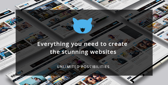 Shadowcat - A News and Magazine WordPress Theme