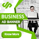 Business Corporate Ad Banner - AR
