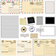 Set of Postcards and Stamps - GraphicRiver Item for Sale