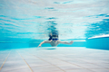 Young boy swimming underwater - PhotoDune Item for Sale
