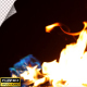 Realistic Fire Line in Super Slow Motion - Alpha Channel v.6 - VideoHive Item for Sale