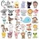 Set of Cartoon Animals