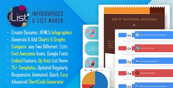 Infographic Maker - iList Pro - CodeCanyon Item for Sale