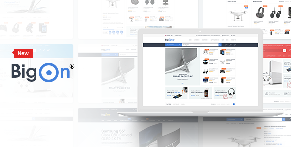 Bigon - eCommerce HTML Template - Shopping Retail