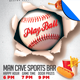 Play Ball Baseball Event Flyer Template - GraphicRiver Item for Sale