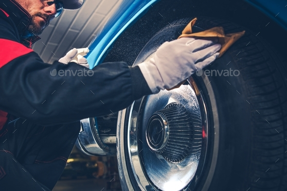 American Classic Car Care - Stock Photo - Images