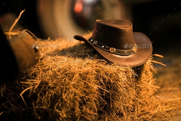 Cowboy Hat Western Wear - Stock Photo - Images
