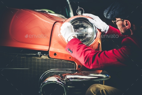 Collectible Car Appraisal - Stock Photo - Images