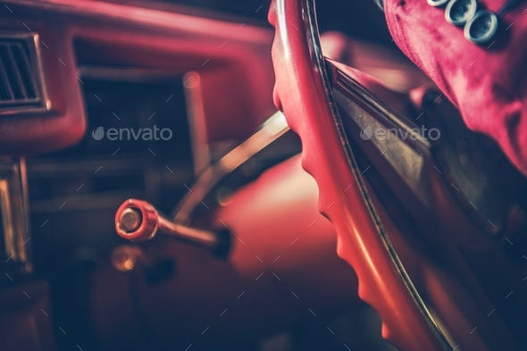 Classic Car Passionate Drive - Stock Photo - Images