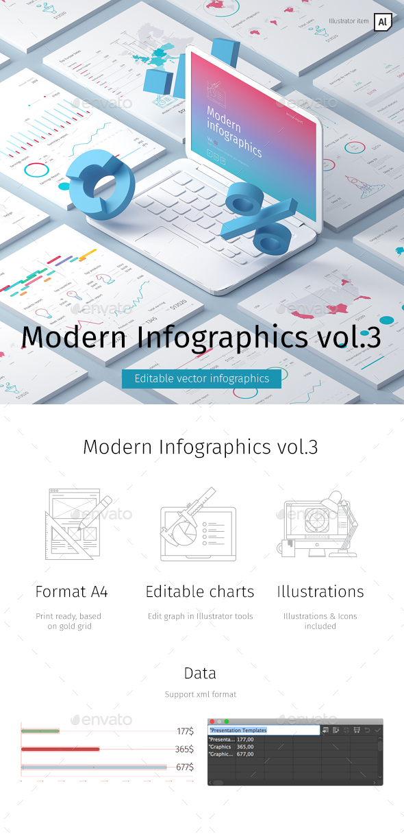 Modern Infographics vol.3 - Infographics