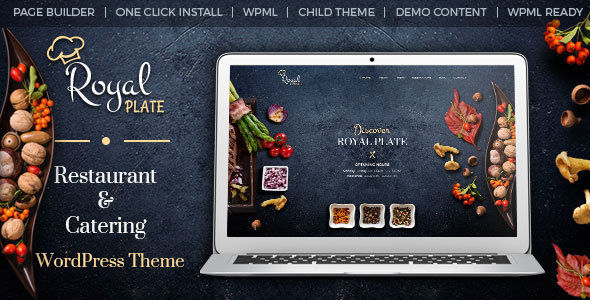 Best 18+ Catering WordPress Themes 2019 7