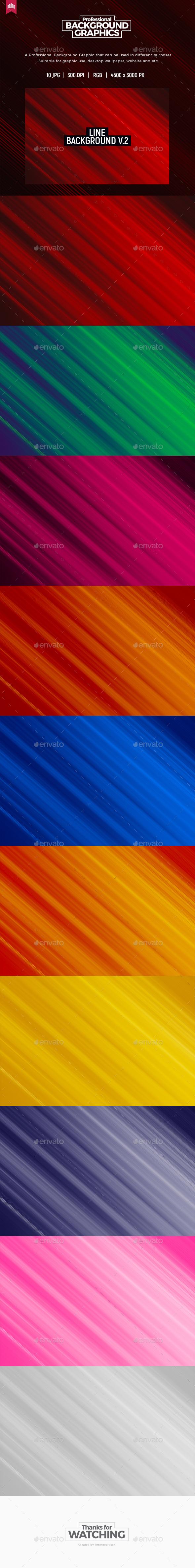 Line Background V.2 - Backgrounds Graphics