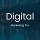 Digital Marketing Pro Design Powerpoint Template - GraphicRiver Item for Sale