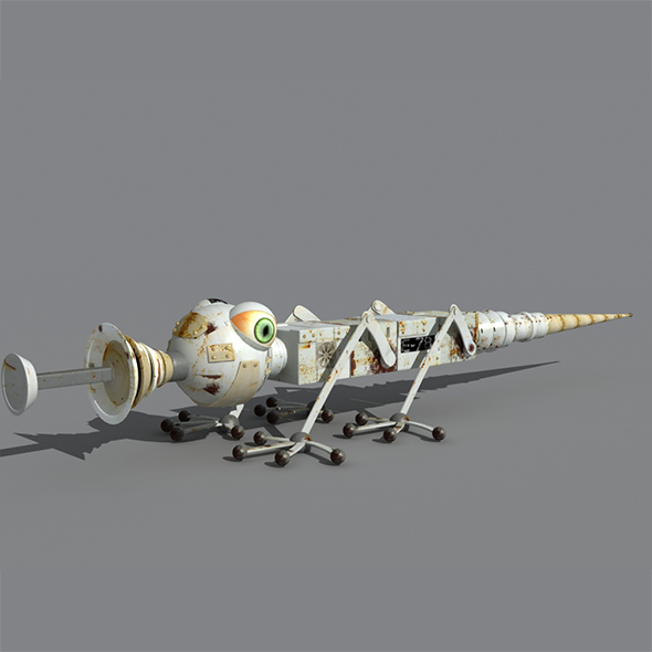 Bug Robot 3d model - 3DOcean Item for Sale