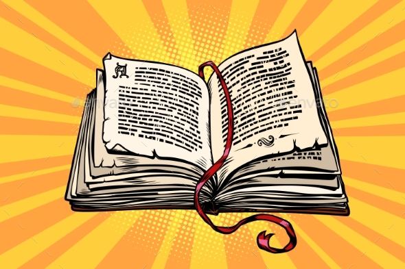 Ancient Book - Man-made Objects Objects