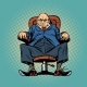 Old Boss in the Chair - GraphicRiver Item for Sale
