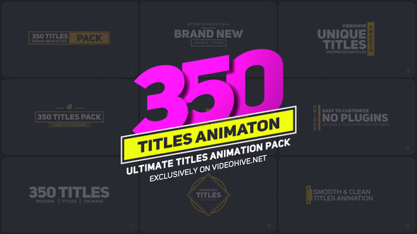 Titles animation pack corporate envato videohive after effects titles animation pack corporate envato videohive by after effects templates maxwellsz