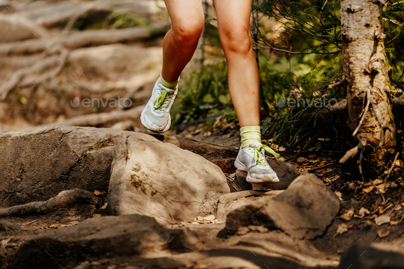 feet women runner - Stock Photo - Images