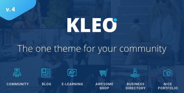 Image of KLEO - Pro Community Focused, Multi-Purpose BuddyPress Theme