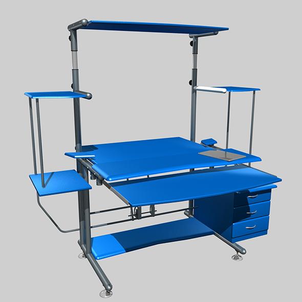 Computer Tabel - 3DOcean Item for Sale