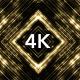 Golden Led Lights Loop 4K - VideoHive Item for Sale