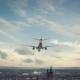 Airplane Landing Gottingen Germany - VideoHive Item for Sale