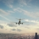 Airplane Landing Guangzhou China - VideoHive Item for Sale