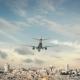Airplane Landing Jerusalem Israel - VideoHive Item for Sale