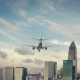 Airplane Landing Charlotte USA - VideoHive Item for Sale